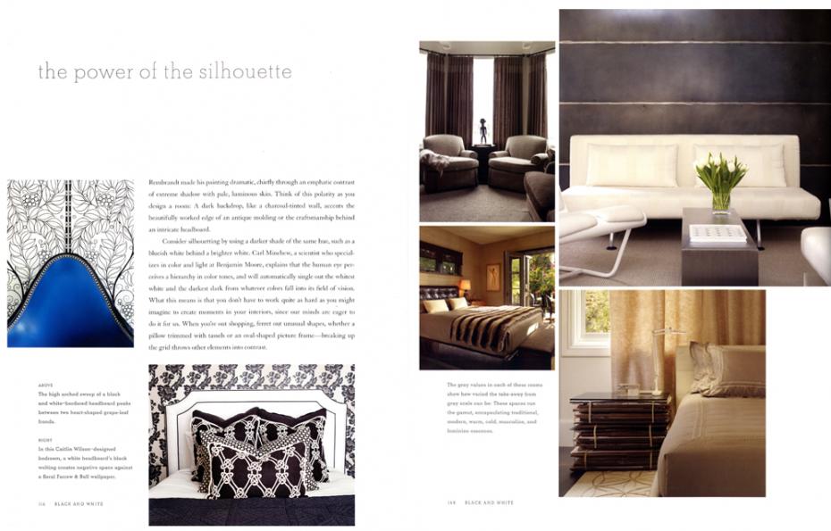 caitlin wilson design black & white