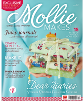 mollie makes cover