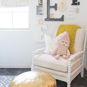 Vintage Modern Kids Room Makeover with Destination Nursery