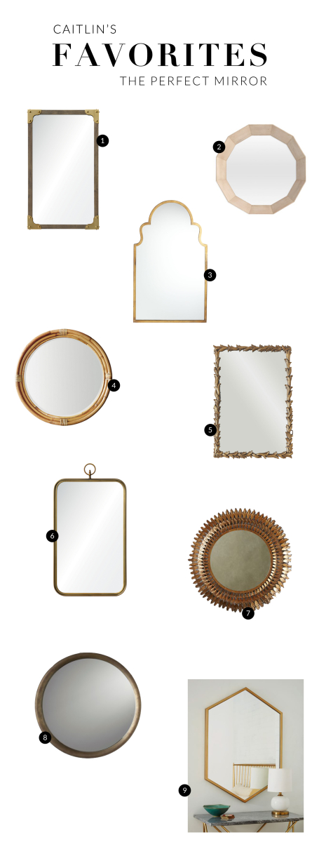 Caitlin's Favorites - MIRRORS