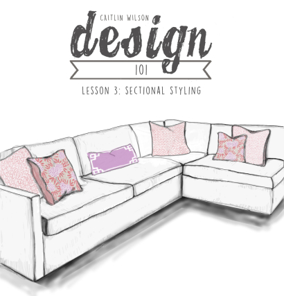 Excellent Caitlin Wilson Design 101 Lesson 3 Sectional Styling Inzonedesignstudio Interior Chair Design Inzonedesignstudiocom