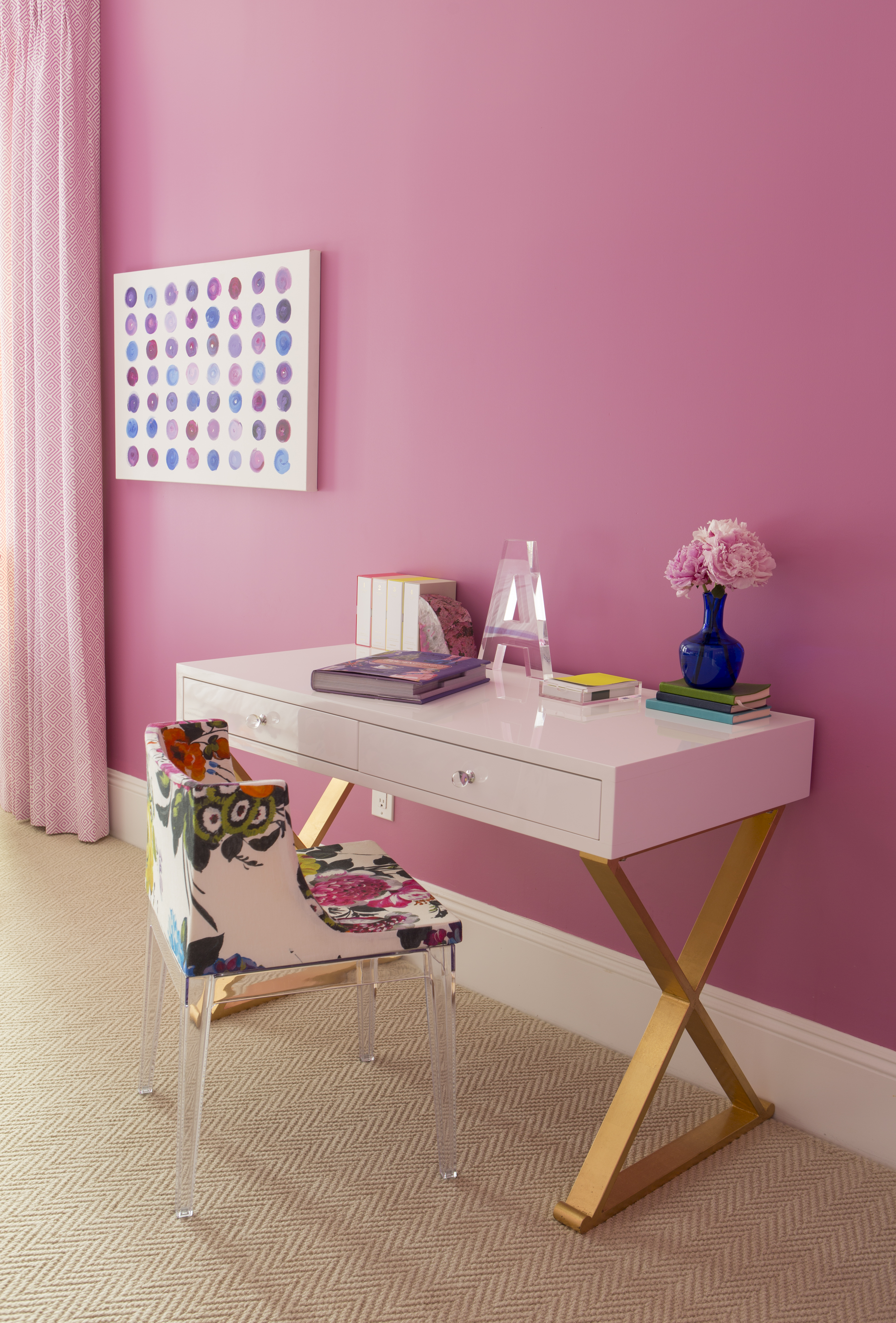 caitlin wilson | street of dreams project: pink bedroom reveal