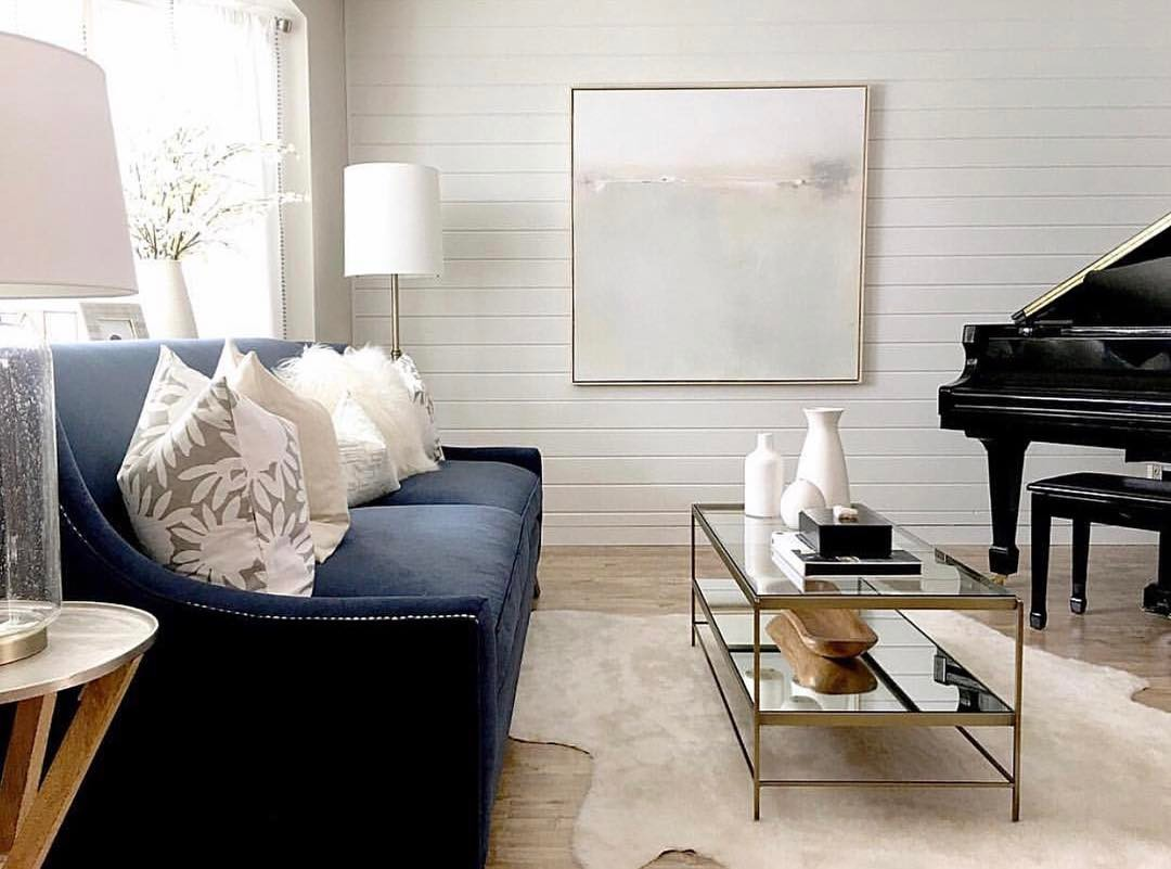 Caitlin Wilson   Beautifully Chic Living Room