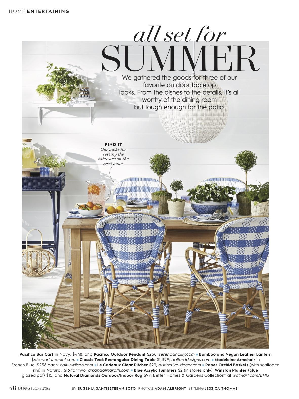 Better Homes & Gardens June 2018