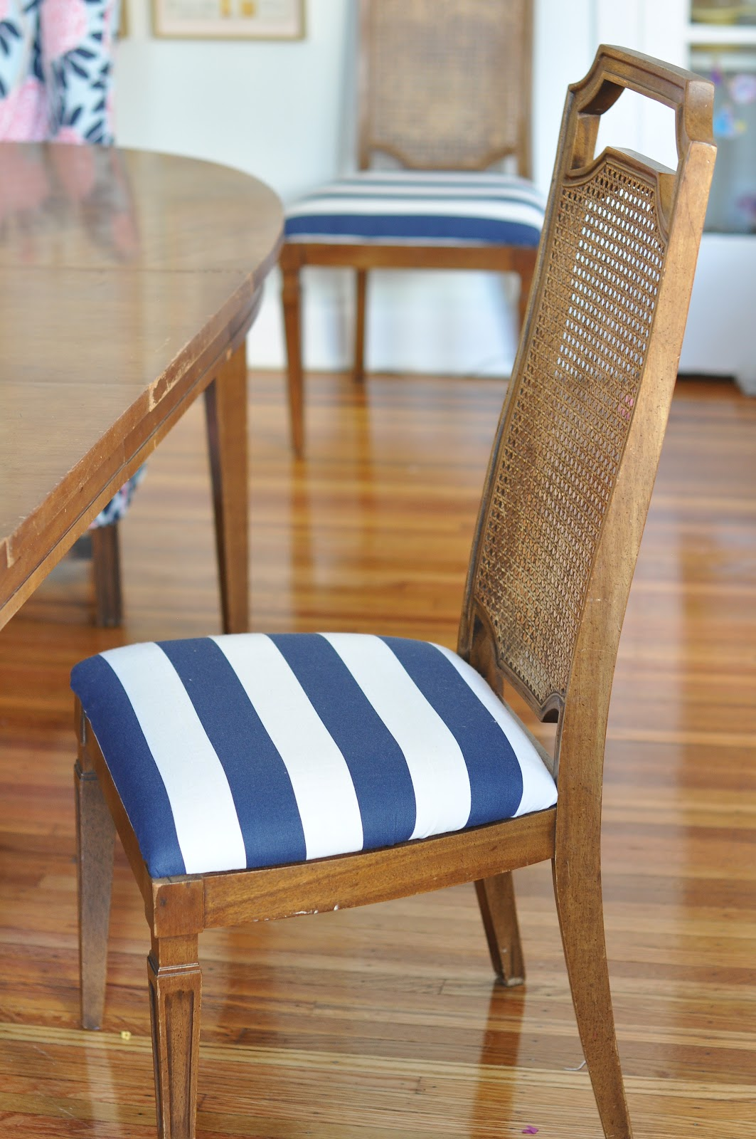 Caitlin Wilson   Dining Seat Re-upholstery!