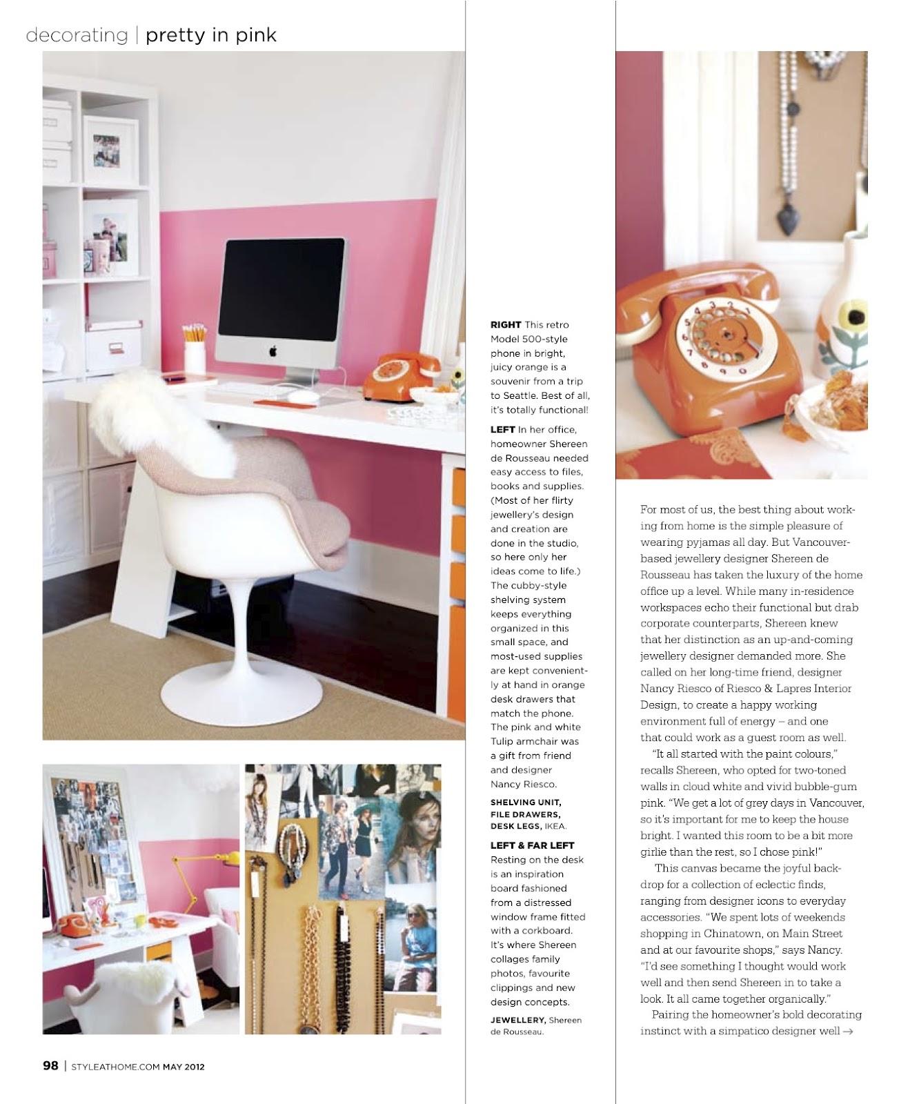 Caitlin Wilson | Style at Home Magazine