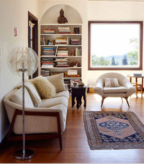 Modern Furniture With Oriental Rug caitlin wilson | decorating with persian rugs