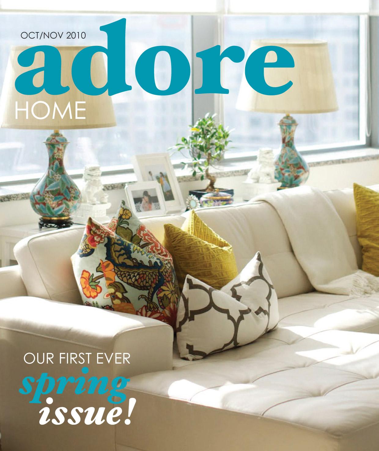 Home Magazine: Adore Home Magazine